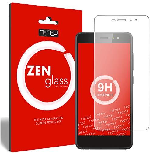 ZenGlass (2 Stück Flexible Glas-Folie für Gigaset GS160 Panzerfolie I Bildschirm-Schutzfolie 9H