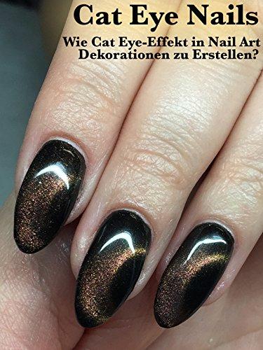 Cat Eye Nails: Wie Cat Eye-Effekt in Nail Art Dekorationen zu Erstellen? (Grenze Dekoration)