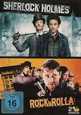 Guy Ritchie : Sherlock Holmes / Rock 'N' Rolla - 2 DVD Set (Sherlock Holmes Films Robert Downey Jr)