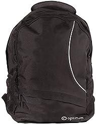 Optimum Backpack Sac à Dos Homme, Noir/Blanc, Taille Unique