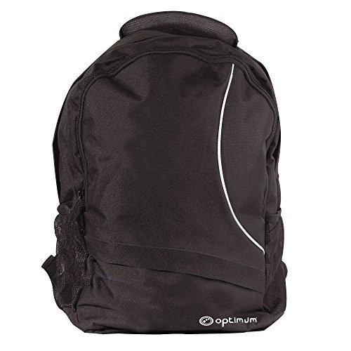 Optimum Backpack Sac à Dos Homme, Noir/Blanc, Taille Unique Optimum