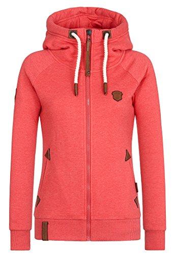 Naketano Female Zipped Jacket Blonder Engel Cherry Melange, XL