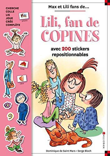 Lili, fan de copines - Livre stickers