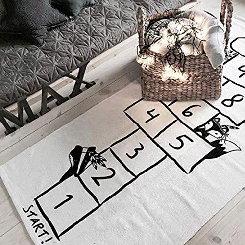 ZUEN Teppich Gamepad Weicher Krabbelteppich Kinderzimmerdekoration Bodenteppich Geeignet Für Schlafzimmer Wohnzimmer - 24 Läufer 72 Teppich