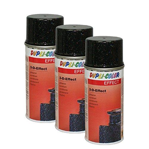 Preisvergleich Produktbild 3X DUPLI-Color 3-D-Effekt Spray Effekt Lack LACKIERUNG 150 ML