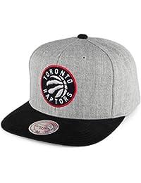 Casquette Heather Micro Toronto Raptors gris-noir MITCHELL & NESS