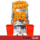 Profi - Orangenpresse ORANGEstar von GastroQuik 20 Orangen / minute +1 Kiste Orangen