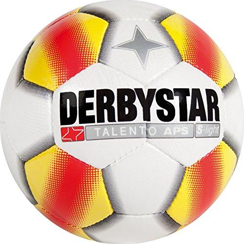 Derbystar Talento APS S-light, 4, weiß gelb rot, 1109400153 - 5 Flight Real