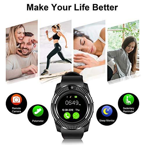 Zoom IMG-3 smartwatch orologio fitness uomo donna