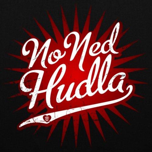 Spreadshirt Schwoba No Ned Hudla Schwäbischer Dialekt Stoffbeutel Schwarz