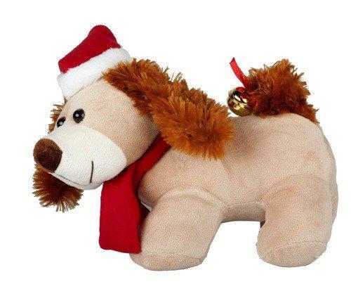Preisvergleich Produktbild Plüschtier Hund, lebhafte und singender 'Christmas' 30cm–Qualität coolminiprix®