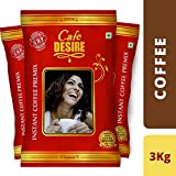 #7: Cafe Desire Instant Coffee Premix Combo (Red Range) - 3 Kgs