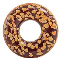 INTEX Nutty Chocolate Donut Tube Inflatable Float