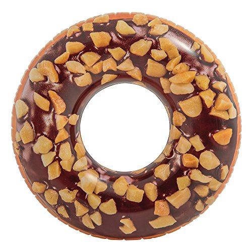 Intex 56262NP - Rueda hinchable Donut chocolate 114 cm diámetro