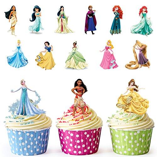 les-filles-disney-princesses-de-tasse-pour-gateaux-14-comestibles-stand-up-decorations