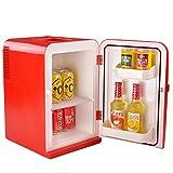 SL&BX Mini Kühlschrank,Auto und Nach Hause schlafsaal Büro 15l Kompakt-Kühlschränke Brust Milch Kosmetik und Kalten aufbewahrungsbox-Rot 27x32x43cm(11x13x17inch)
