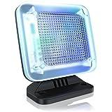 CSL - LED TV-Simulator / Fake-TV | LED Fernseh-Attrappe | Dummy TV / Fernsehsimulator | Einbruchschutz / Home Security | energieeffizient | 12-farbige LEDs | 3 Programme | Zufallsmuster