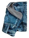 Wollhuhn ÖKO Halstuch, Kurzloop, Schlupfschal, Schal Jersey im coolen Jeans-Look für Jungen und Mädchen (aus Öko-Stoffen, bio), 20150107
