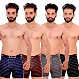 #6: Zotic Multicolor Trunk men underwear combo,cotton,innerwear,pack of 4 (LNA_BRO_GR_BR)