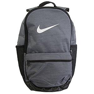 Nike Nk Brsla M Bkpk, Sacs à dos mixte adulte, Gris (Flint Grey/Black Whi), 15x24x45 cm (W x H L)