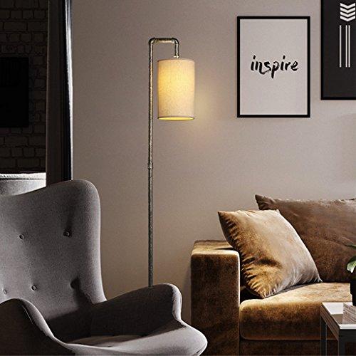 Meters Tube d'eau lampadaire industriel vent loft rétro en fer forgé lampadaire chambre étude lampe de lecture