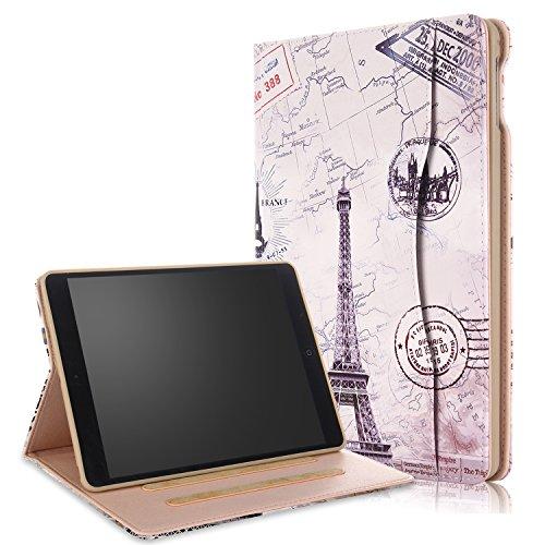 018/2017 iPad Air/Air2 Hülle Multifunktionale TPU Soft Case, Mehrere Sichtwinkel mit Hand-Halter [Auto Schlaf/Wach] Schutzhülle für Apple iPad 9.7 2017/2018/Air/Air2 Z-Turm ()