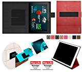 Allview Viva H10HD Hülle Cover Case in Rot Leder -