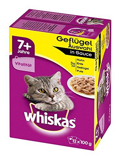 whiskas-7-katzenfutter-geflugelauswahl-in-sauce-48-beutel-4-x-12-x-100-g