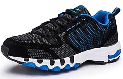Image indisponible. Image non disponible pour la couleur   Homme Basket  Femme Mode Chaussure Sport pour Mutisport Running Tennis Course Pied Large  Sneakers ... d78bc49d3378