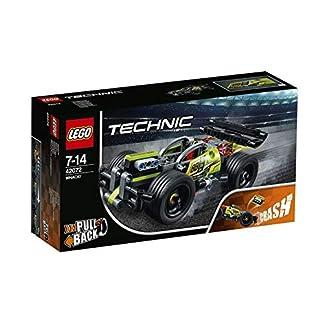 LEGO Technic – ¡DERRIBA!, Juguete de Construcción de Coche Rojo (42073)