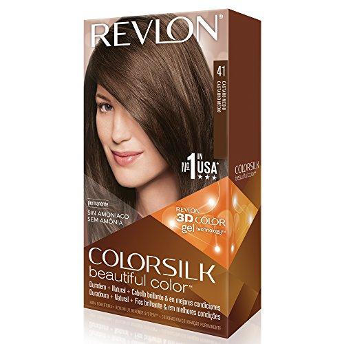 revlon colorsilk coloration des cheveux n41 medium brown 591 ml - Coloration Revlon