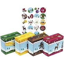 24 Adventsboxen für Kinder: zum Befüllen