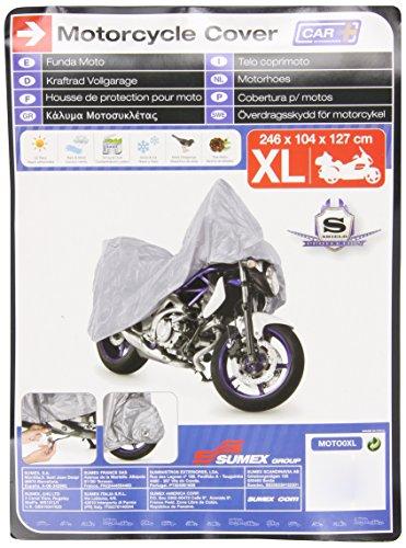 Sumex-Moto0XL-Carplus-Telo-CopriMoto-Pvc-XL-246X104X127-Cm