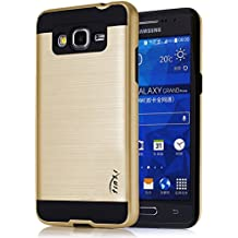 Tinxi CoverCase - Funda para móvil Samsung Galaxy Grand Prime G530, color dorado