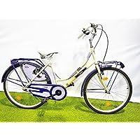 SCHIANO Bicicleta Bicicleta Mujer S/C Holanda Primavera 26 Blanco/Azul