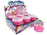 JustRean Toys  Pink Unicorn Poo - magischer Einhorn Schleim 1 Dose - Rosa Glitzer Einhornschleim - Magic Glittery Slime Toys <3