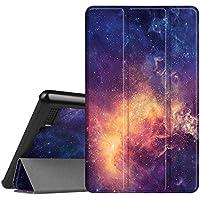 Fintie Hülle für Amazon Fire 7 Tablet (7-Zoll, 7. Generation - 2017) - Slim Cover Lightweight Schutzhülle Tasche mit Standfunktion und Auto Schlaf/Wach Funktion, Die Galaxie