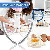 Newgrees Batidor de la Lã¡Mina para el 5-Quart Kitchen Aid Mixer Levante Cuenco Mezclador de Cocina Accesorios