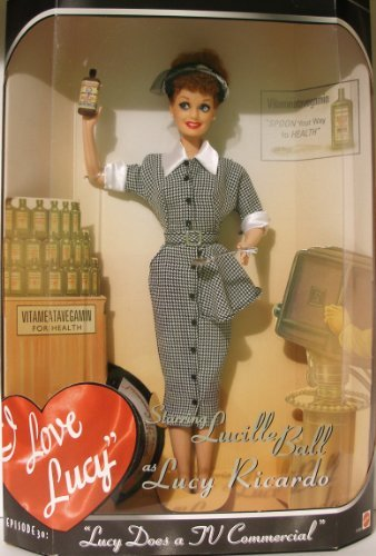 Mattel Barbie 17645 Lucille Ball as Lucy Ricardo (Lucy Puppen Barbie)