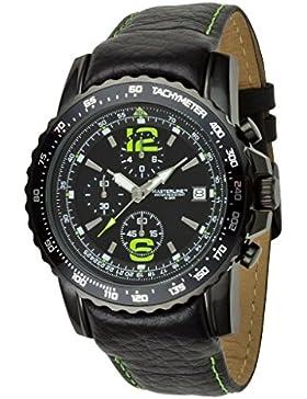 Masterline1966 100m Fliegeruhr Chronograph Schwarz Tachymeter ML06138002