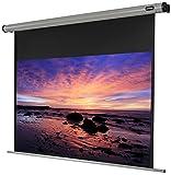 Celexon Home Cinema, Pantalla motorizada incluido mando a distancia, Factor de ganancia 1,2, 16:9, 220 x 124 cm