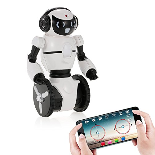 Goolsky Wltoys F4 0.3MP Camera Wifi FPV APP Smart Control G-sensor Robot Super Carrier RC Toy Gift for Children Kids Entertainment