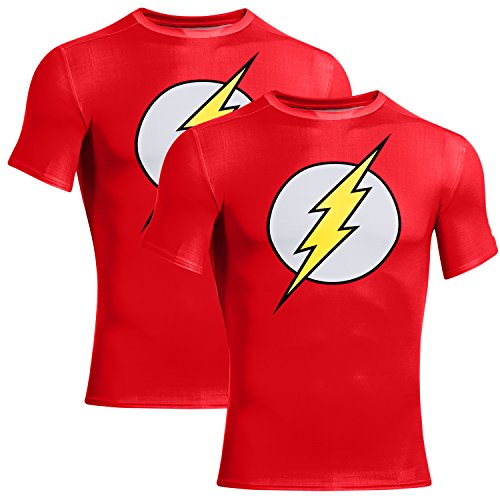 under-armour-2-pack-superhero-compression-shirt-for-men-batman-captain-america-flash-superman-punish