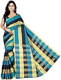 Sarees(Welcome Fashion New Collection Bhagalpuri Cotton Silk Sarees For Women Party Wear Offer Designer Sarees...