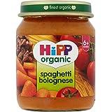 Hipp biologique Spaghetti Bolognese 6mois + (125g) -