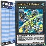 Andycards Yu-Gi-Oh! - Numero 39: Utopia - Ultra Rara DUPO-IT104 in Italiano + Segnapunti