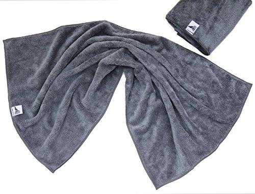 2er Set Hunde-Handtuch aus Microfaser sehr flauschig und super saugfähig schnelltrocknend