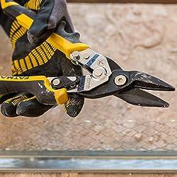 Stanley FMHT73756-0 FatMax ERGO Cisaille à tôle droite Gris 250 mm