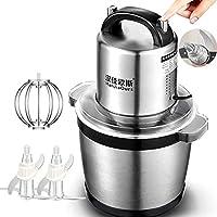 Picador eléctrico de alimentos, procesador de alimentos para uso doméstico y comercial, molinillo de