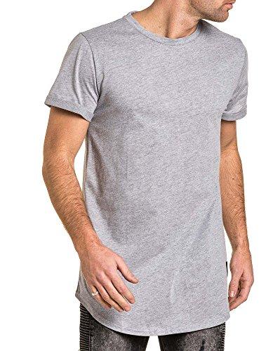 Sixth June - T-Shirt deutlich abgerundeten überdimensionalen grauen Mann vereint Grau